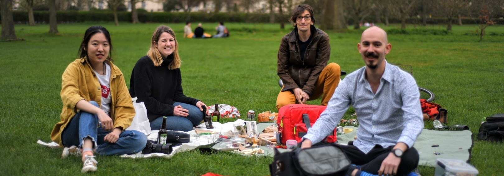 Lab outing to Regent's park